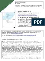 Literature as heterological practice