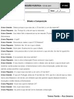 Ditado e Composição (texto)