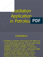Distillation Petroleum