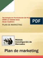 Plan de marketing Gerencia de proyectos