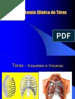 Anatomia Clínica do Tórax