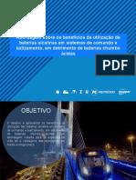 3 - Pedro - APRESENTAÇÃO BANCO DE BATERIAS ALCALINAS FINAL