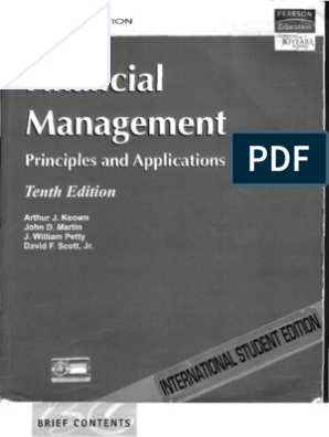 Finanical Management | Capital Budgeting | Valuation (Finance)