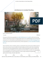 Archdaily - How Cities are Using Architecture to Combat Flooding