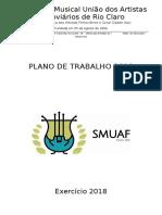 Plano de Trabalho e Proposta Financeira 2018.5