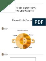 Unidad 2 - Planeación de procesos