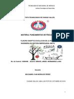 CUADRO SINOPTICO EVOLUCION DE LA FISICA MIGUEL HDEZ