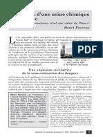 AZF - Explosion d'une usine chimique à Toulouse