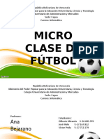Micro-Clase Futbol