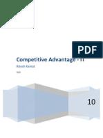 Competitive Advantage -IT Final