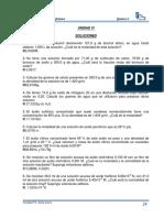 Unidad VI. Soluciones I-2014