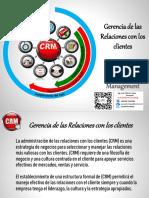 La Gerencia de las Relaciones con los Clientes (CRM)