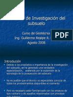 02 Tecnicas de investigacion del subsuelo.ppt