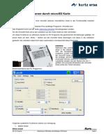 Anleitung zu SD Karte und Software i-CON pico