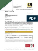 8686 Medida de RPT Global Diesel
