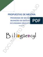 Bilingüismo en CyL