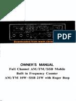 manual radio CB