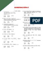 NUMERACIÓN-II
