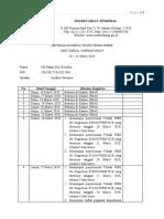 Laporan Kinerja WFH (16 - 31 Maret 2020)