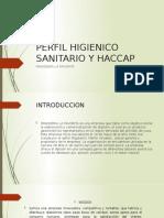 PERFIL HIGIENICO SANITARIO Y HACCAP