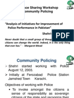 Analysis of Initiatives for Improvement of Police Performance in Pakistan - - Shehri-CBE