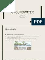 groundwater-hydology