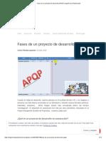 Fases de un proyecto de desarrollo (APQP) _ Ingeniería de Automoción