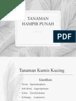 TANAMAN HAMPIR PUNAH.pptx
