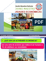 ACTIVIDADES ECONOMICAS EXT. Y PROD.
