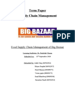 Food Supply Chain of Big Bazaar