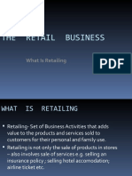 THE  RETAIL  BUSINESS INTRO