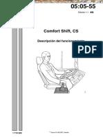 Manual Scania comfort shift