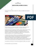 ¿Cómo encajan las tarjetas de crédito y de débito en el sistema monetario.