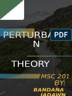 PURTURBATION THEORY (1)