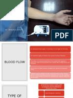 BLOOD FLOW METER