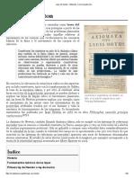 Leyes de Newton - Wikipedia, la enciclopedia libre