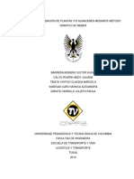 Taller Localización Almacenes - Grupo 8