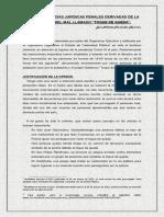 CONSECUENCIAS JURÍDICAS PENALES DERIVADAS DE LA VIOLACIÓN DEL MAL LLAMADO TOQUE DE QUEDA