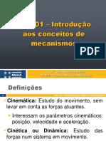 Aula 01 - Introdução aos mecanismos