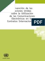 Convención de las Naciones Unidas sobre la utlización de las comunicaciones electrónicas en los contratos internacionales