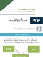 Lezione_5_-_La_Teoria_dell'Offerta