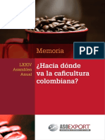 HACIA DONDE VA LA CAFICULTURA COLOMBIANA