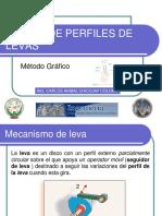 DISEÑO DE PERFILES DE LEVAS 2010