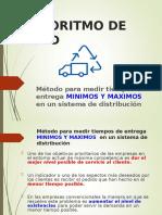 PPT Algoritmo de Ford