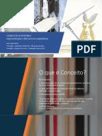 CONCEITO E PARTIDO ARQUITETONICO