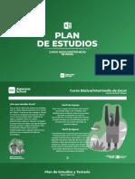 Plan de Estudios   Curso de Excel