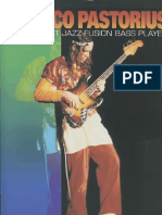 Jaco Pastorius the Gratest Jazz-Fusion Bass Player