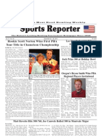 December 22, 2010 Sports Reporter