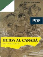 Huida a Canadá-Barbara Smucker