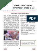 Inspección y Evaluación de Rodamientos